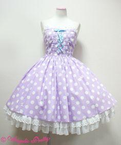 Angelic Pretty French Dot Dreamジャンパースカート