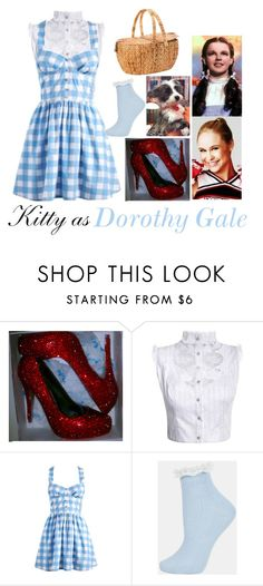 Kitty as Dorothy Gale by samevans17 on Polyvore featuring Lipsy, Natasha Zinko, Topshop and John Lewis