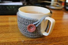 Crochet Mug Cozy how to fit your own mugs