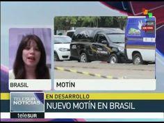 Brasil registra nuevo motín en el estado de Sao Paulo