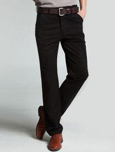 Wholesale Modern & Fashionable Pure Color Washing Long Pants----Black top dresses