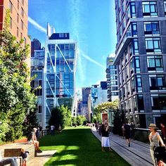 The Highline in Chelsea by poplipps