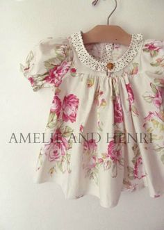 New PDF Coming soon - Picnic Shirt and Dress Pattern from Amelie and Henri Patterns