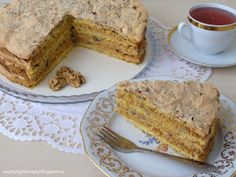 Juliin nebeský dort Food Cakes, Banana Bread, French Toast, Food And Drink, Tasty, Breakfast, Blog, Therapy, Cakes