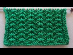 Çitlenbik örgü modeli yapılışı /Hem kolay hem güzel olsun diyenler /Knitting pattern ,Strickmuster - YouTube Baby Knitting Patterns, Knitting Charts, Knitting Stitches, Knitting Videos, Crochet Videos, Easy Knitting, Knitted Baby Clothes, Crochet Baby Shoes, Tunisian Crochet