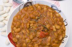 Vegane Serbische Bohnensuppe! Gut vorzubereiten und einfach herzustellen.
