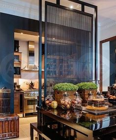 Architecture – Enjoy the Great Outdoors! Style At Home, Living Room Modern, Living Spaces, Room Deviders, Oriental Decor, Asian Interior, Interior Architecture, Interior Design, Design Case