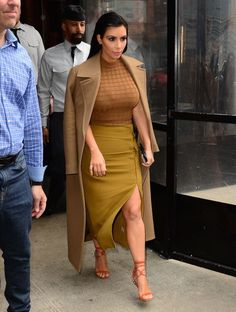 Out in New York City's Soho. See all of Kim Kardashian's best 2015 looks.