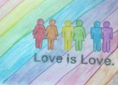 Love is love #love #lgbt #pride