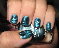 Electric nails!  Easy to do and so beautiful!
