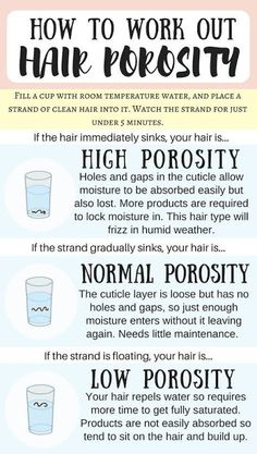 What do you know about hair porosity?