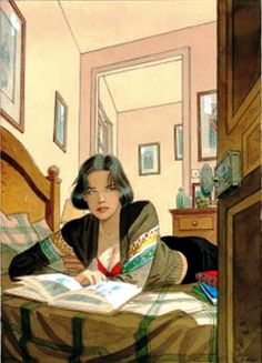 Cecile deitada by Peregrina Cultural re-pinned by: http://sunnydaypublishing.com/books/