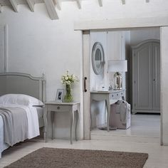 french style bedroom, provence range, the white company