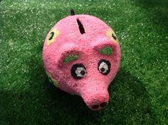 #Foamclay und #Silkclay #Modelliermassen ideal für Kinder #Sparschwein basteln