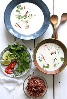 The Best Coconut Soup, Ever....this is an authentic version of my favorite soup.  Can't wait to try it!