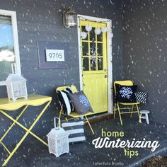 Winter is in full swing, but can your home take on the cold? Take a peek at these home winterizing tips to make sure.
