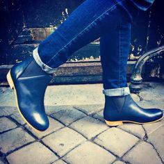 Blue boots By #ysasuparis www.ysasu.com