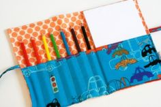 Sketch pad and pencil roll