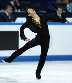 Daisuke Takahashi - Men's Figure Skating / Ice Skating dress inspiration for Sk8 Gr8 Designs.