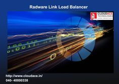 At #Cloudace we are offering this #RadwareLinkLoadBalancerSolutions throughout Hyderabad India.RDWR is dedicated to create application delivery and application #security solutions for virtual and #cloudorienteddatacenter.https://www.facebook.com/CloudAceTechnologies