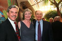 Arthur & Lynn Guilford with Dr. Fred Bloom at the One World Gala Reception on March 28, 2012