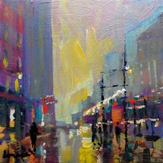 "Daily+Paintworks+-+""New+york""+-+Original+Fine+Art+for+Sale+-+©+salvatore+greco"