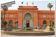 Museu Egípcio do Cairo - Egito