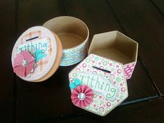 Tithing Boxes, how precious.  I think they sell boxes like these at craft stores, and I'm pretty sure I have the rest!