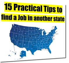 hinking about moving to another state but need to find a job first? Well so did we so we tapped out network and came up with these fifteen tips to help you job search from a distance. Special thanks to Mark Frietch, Sandy Charet, Donna Shannon,...
