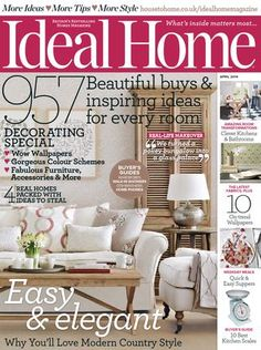 Ideal home magazine april 2014