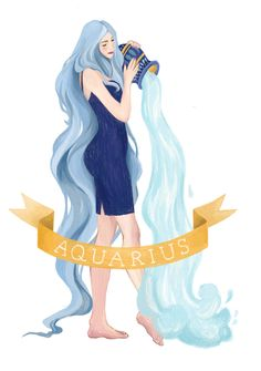Quirky Aquarius, the Water-bearer, is an Air sign whose dual nature creates a unique, intellectual, and social individual who cares deeply for community and mankind. Aquarius Moon Sign, Capricorn Aquarius Cusp, Capricorn And Aquarius, Zodiac Signs Aquarius, Zodiac Art, 12 Zodiac, Astrology Zodiac, Horoscope Tattoos, Zodiac Tattoos