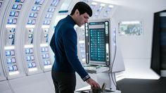 """Zachary Quinto, who has played Spock in three films including last summer's """"Star Trek Beyond,"""" appears in """"For the Love of Spock"""" as both interviewer and interview subject. (Kimberly French/Paramount)"""