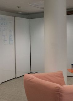 White board and storage space 2 in 1