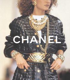 Chanel 80's fashion