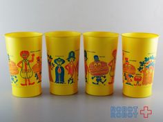 マクドナルド プラスチックカップ ビンテージ