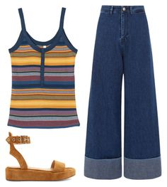 A fashion look from June 2017 featuring stripe tank, strappy flats sandals and high waisted denim jeans. Browse and shop related looks. High Waisted Denim Jeans, Striped Tank, Fashion Looks, Sea, York, Polyvore, Shopping, High Waist Jeans, Ocean