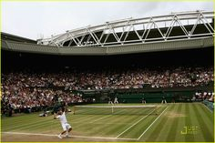 The beauty of tennis is that a player can only win a match if they can take the final point and in that way every point, every moment and point preceding can be seen as a poetic dance contributing to this grand painting a picture that is concluded on this final point. That conveys jaw dropping moments of thrill and amazement. That is what happened on Wimbledon final 2008, a drama and an epic that was only exacerbated  by intermittent rain delays as if it was an incubated egg.
