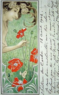 Poppies (postcard)
