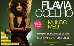 Flavia Coelho une voix venue du Brésil - Paris (en) Vie