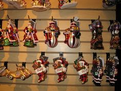 Displaying 2012 Christopher Radko at Geo.'s Quarters on the Square in Downtown Sandersville, Georgia.  All of our 2012 Line will be available very soon at www.gqgifts.com.  If you are Christopher Radko Collector then it is more than worth a trip to Geo.'s Quarters as we have one of the largest Christopher Radko Inventory in the Southern 5 States.  Only 2 or 3 stores that carry more styles.