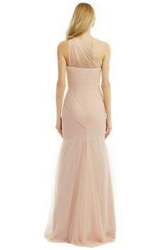 Fallen Rose Petal Gown by ML Monique Lhuillier for $100 | Rent the Runway