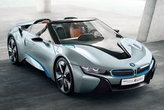 BMW i8 Spyder - Tesla makes the exciting electric car. BMW will make the exciting hybrid? :)  I'd drive that. We're getting closer to production. Wonder how the NSX against this will be. lol There's a Top Gear race I'd like to see.