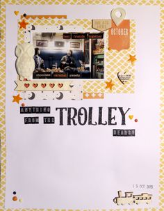 The Crafty Maven Getaway - Scraplift Saturday: Anything from the Trolley, Dears? - 28/11/15