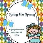 $ This is an ELA Common Core Poetry Unit for Spring. Students will learn about Springtime through poems, chants, plays and writing activities. Free activity with Preview.