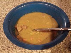 Homemade Split Pea & Ham soup
