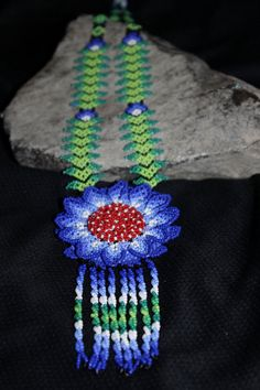 Huichol Peyote Beaded Necklace