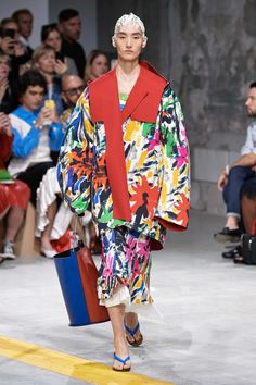 Marni Spring 2020 Ready-to-Wear Fashion Show - Vogue Milan Fashion Weeks, Fashion 2020, Women's Fashion, Vogue Paris, Style Photoshoot, Fashion Photography Inspiration, Fashion Inspiration, Fashion Ideas, Fashion Show Collection