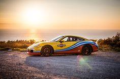 Porsche 911 in Martini Livery