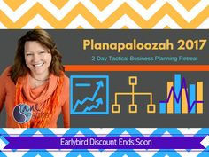 Planapaloozah 2-Day Virtual Tactical Business Planning Retreat with SaneSpaces.com Planapaloozah 2-Day Virtual Tactical Business Planning Retreat with SaneSpaces.com Coaches, Consultants, Experts, Healthcare Providers, Anyone who Works From Home, Entrepreneurs, Moms in Business... This 2-Day Tactical Business #Planning Retreat is designed just for you! Make 2017 your best year yet! Join us! Save $50 through Christmas Day 2016!