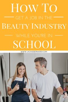 Cosmetology Students--In this video post I answer one of the questions I get the most: I want to have real experience before I graduate. How can I get a job in the beauty industry while I'm still in school?